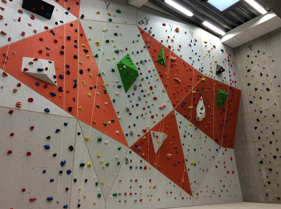 Bogafjellhallen klatrevegg unisport