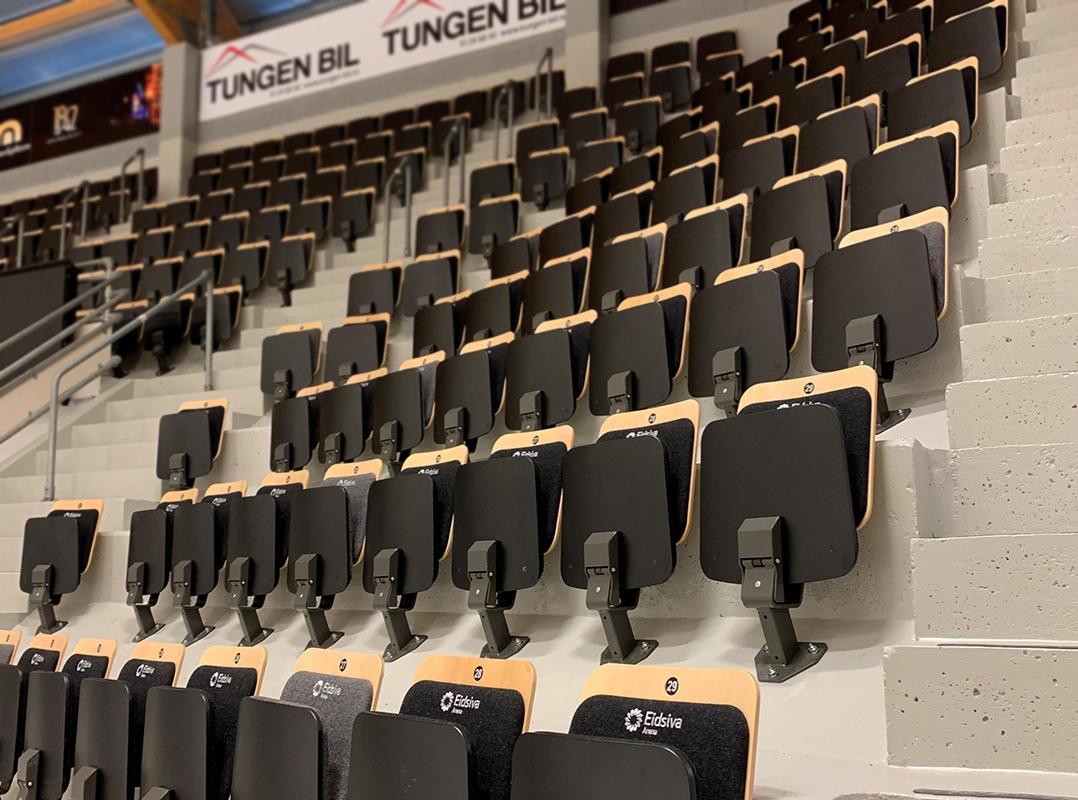 kristinshall tribunestoler unisport eidsiva arena tribune hockey get ligaen