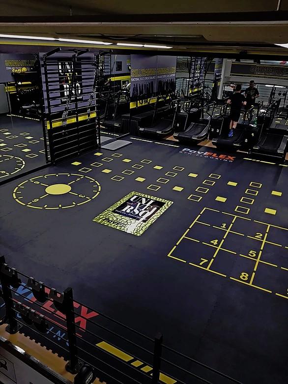 gymgolv gymmatta för tung belastning unisport