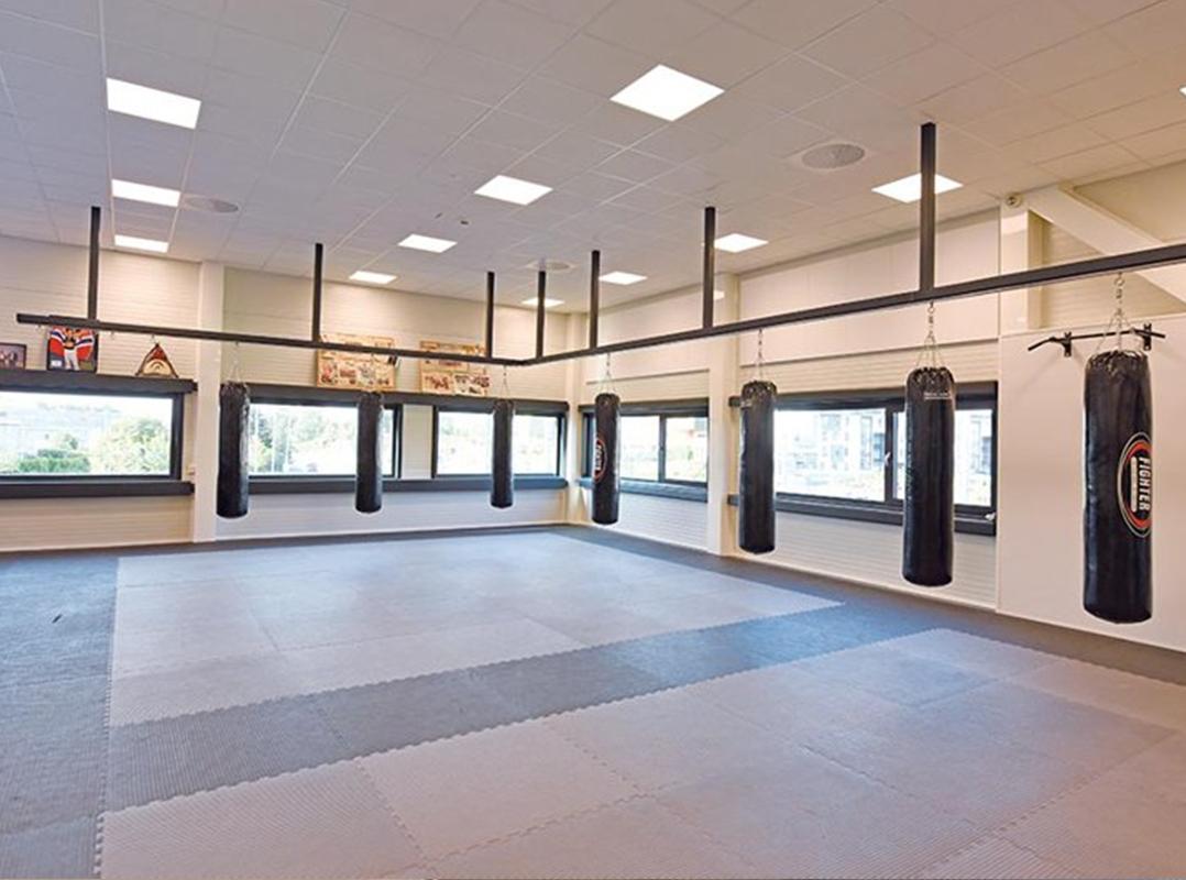 kampsportrom fra unisport