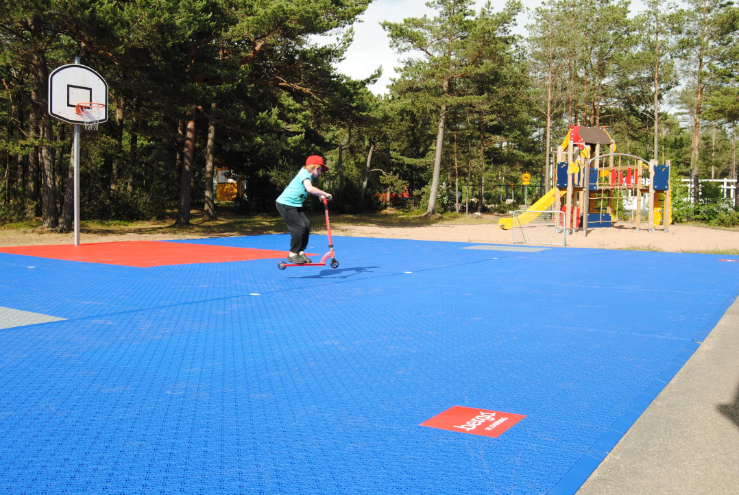 bergo 3x3 basketgulv sportgulv utendørsgulv unisport