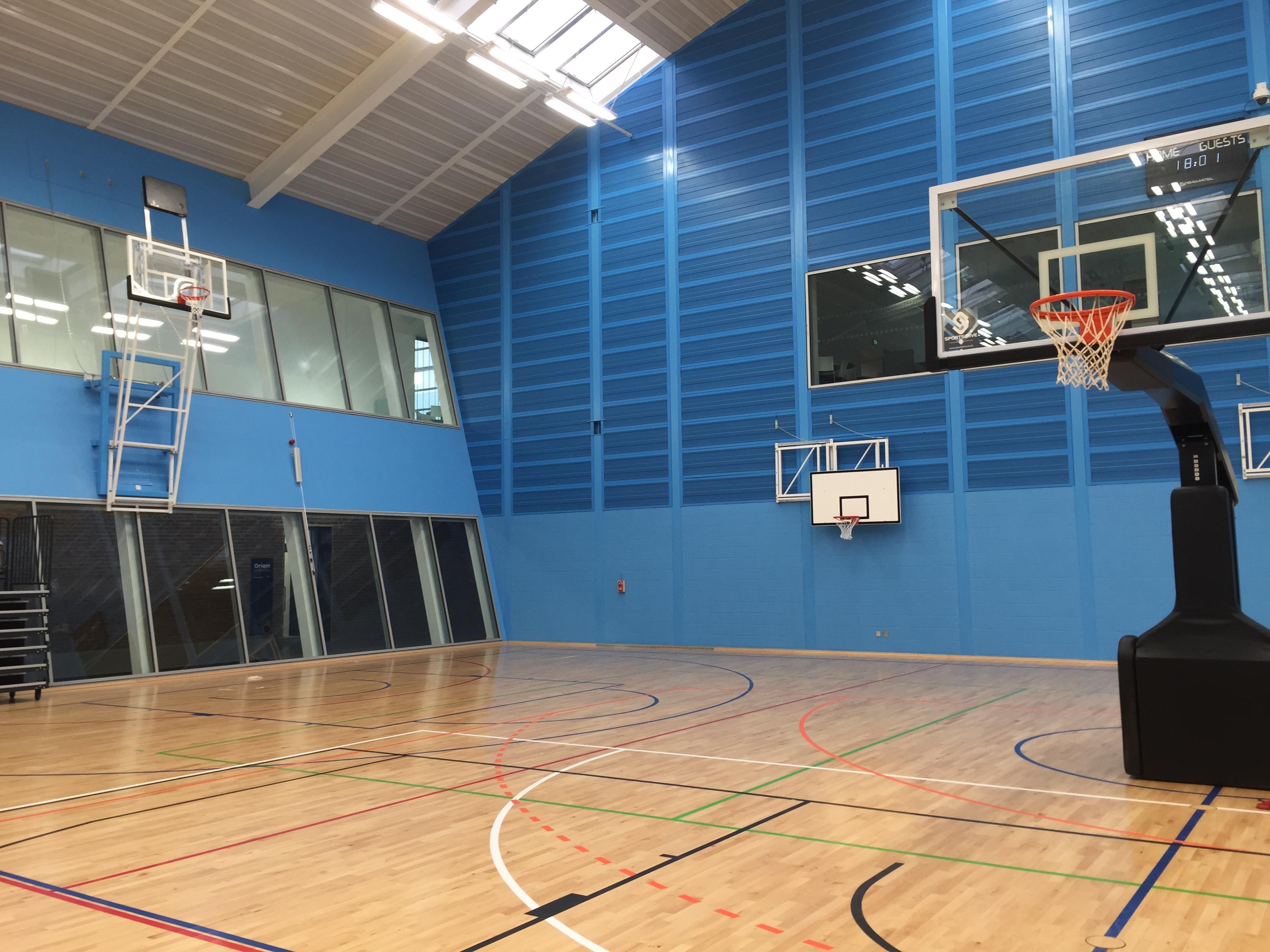Oriam national Performance Centre for Sport