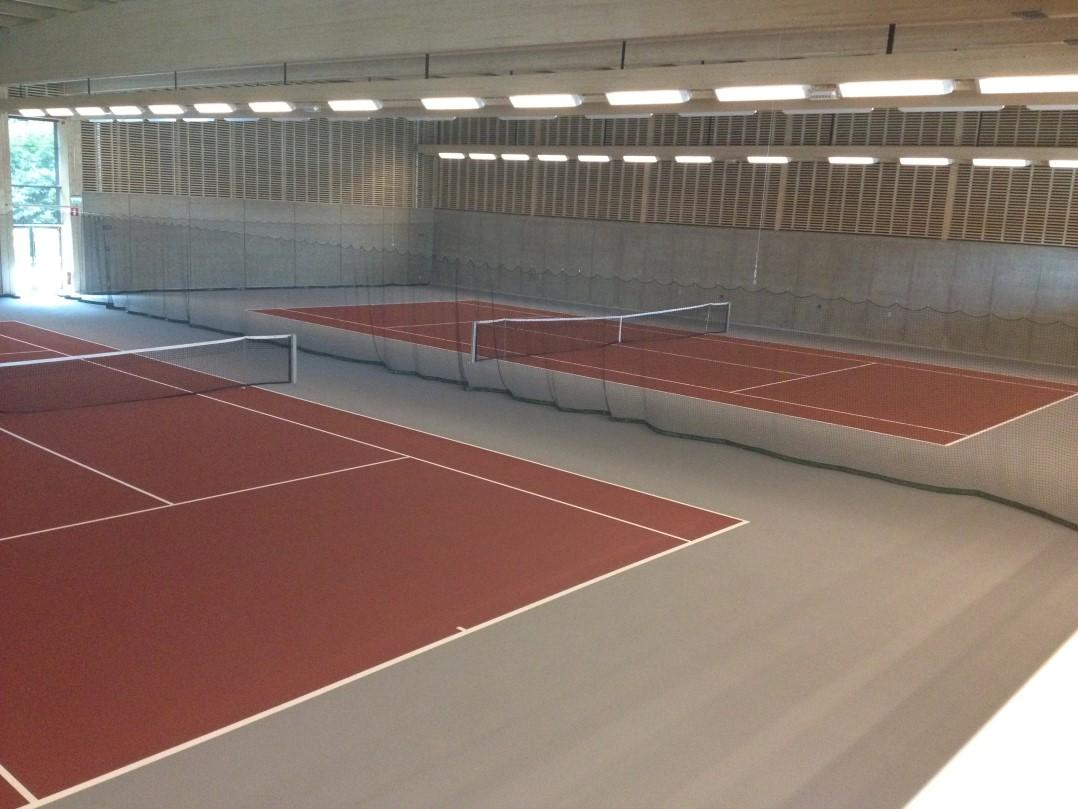 södra climat arena greenset tennisbeläggning unisport
