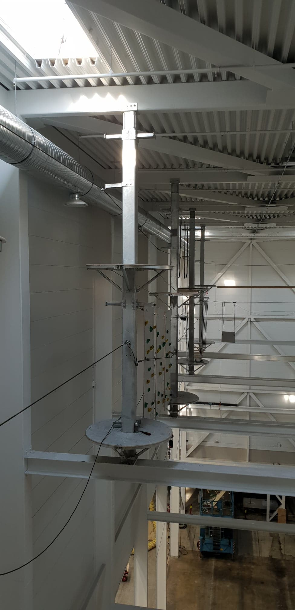 High rope bane, Unisport