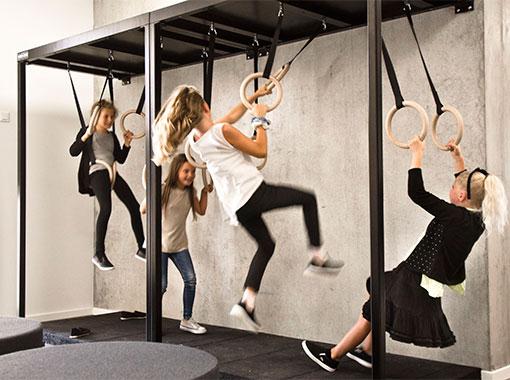 Ninja bane, Frederiksbjerg skole, Unisport