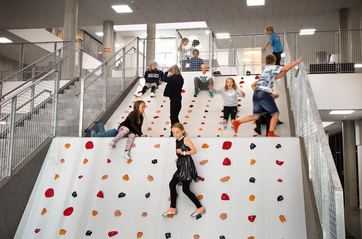 Klatretrappe, Frederiksbjerg skole, Unisport