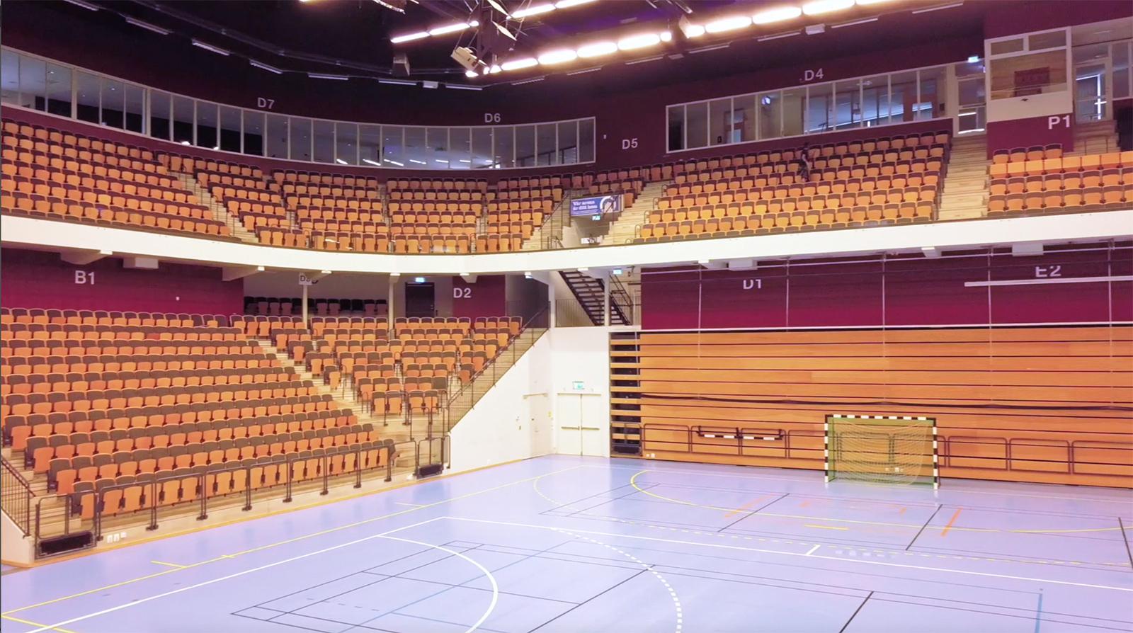 kristianstad arenaomrade unisport