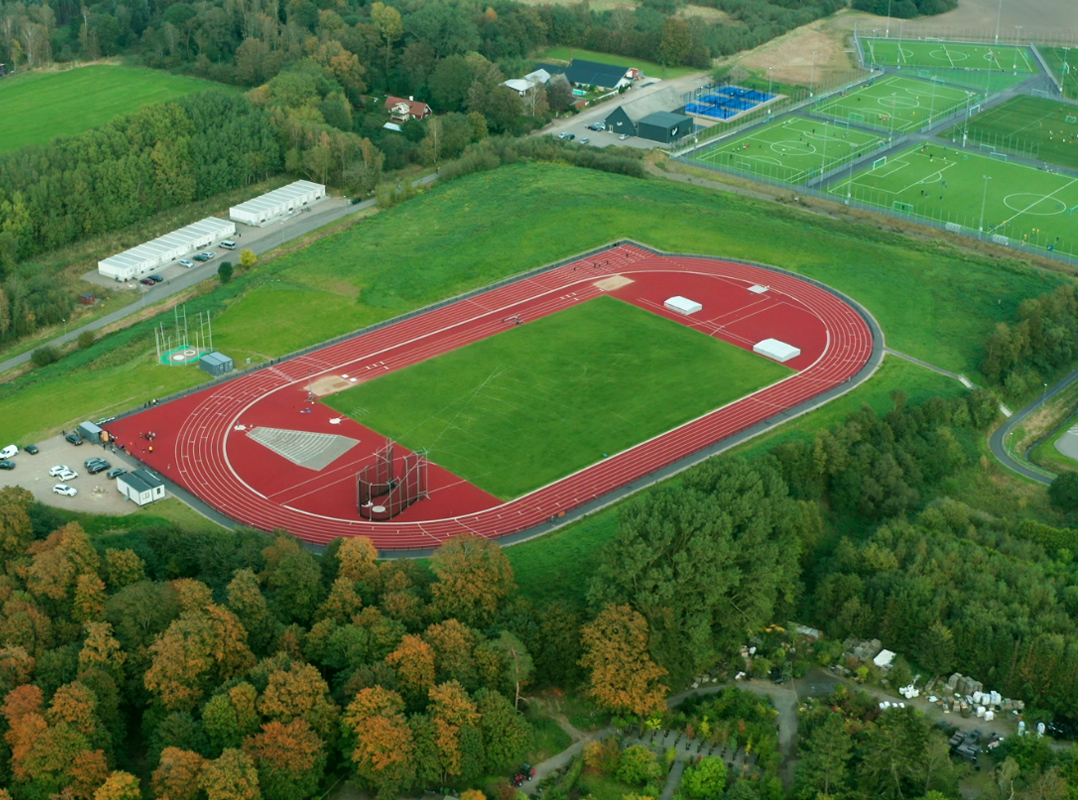 friidrett friidrettsdekke unisport iaaf wa world athletics sertifisert
