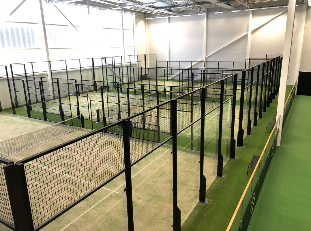 Good to Great Padel padelbaner tennisbaner hardcourt Tennis unisport