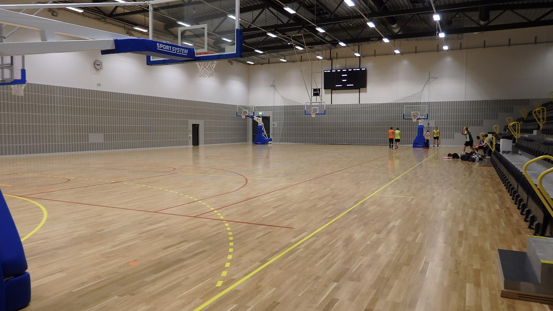 stiga arena eskilstuna trägolv sportgolv från unisport