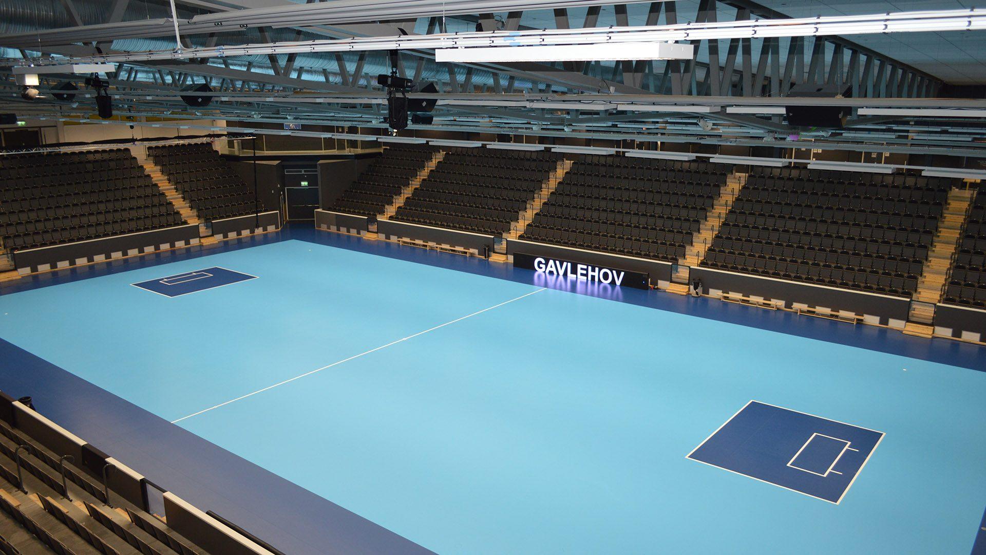 Gavlehov arena sportgolv läktarsystem unisport