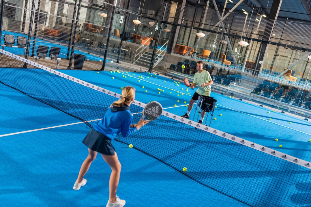 helsingborg padel padelbanor adidas unisport