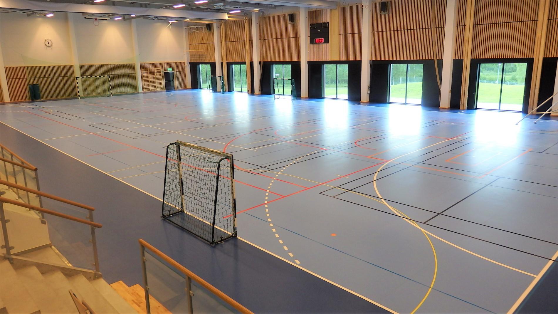 markaryd idrottshall sportgolv unisport