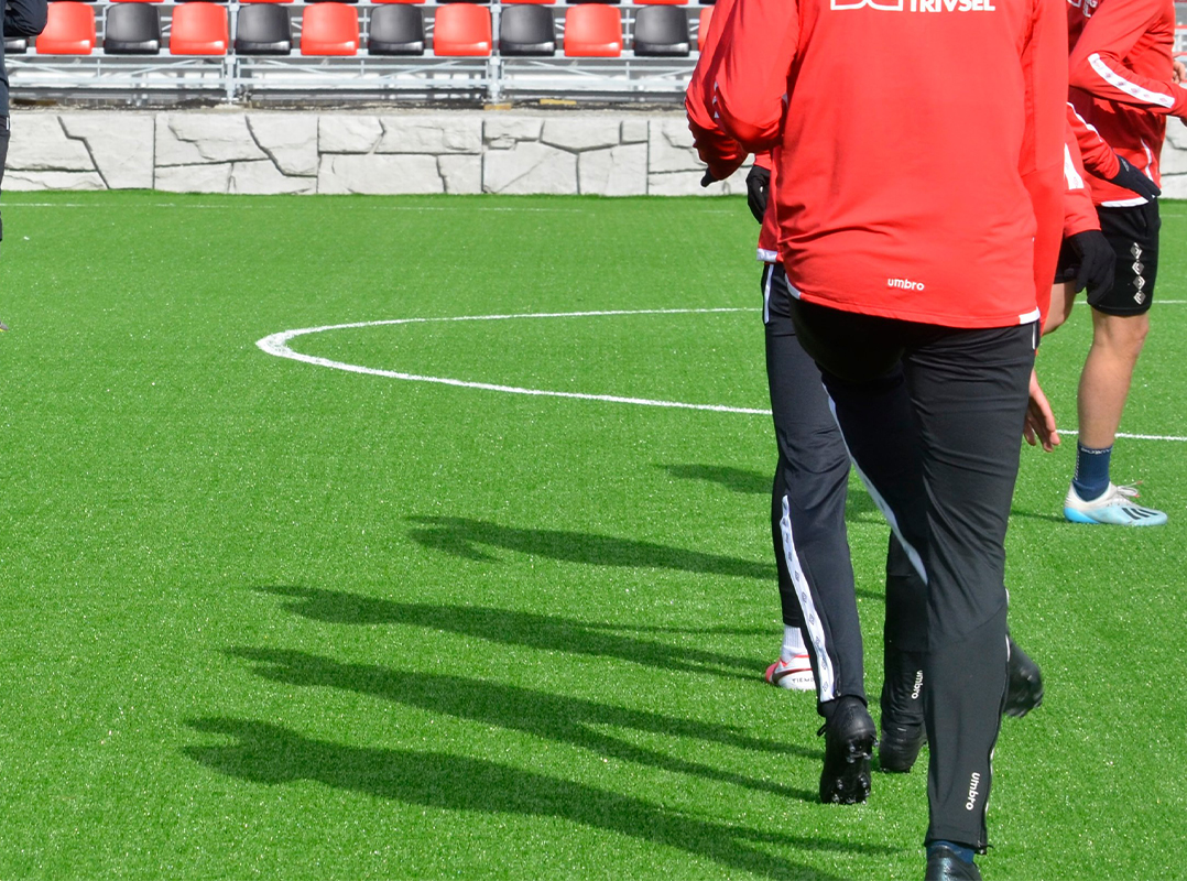 stjørdals-blink obos-ligaen unisport kunstgress miljøvennlig bærekraftig resirkulerbart bioflex
