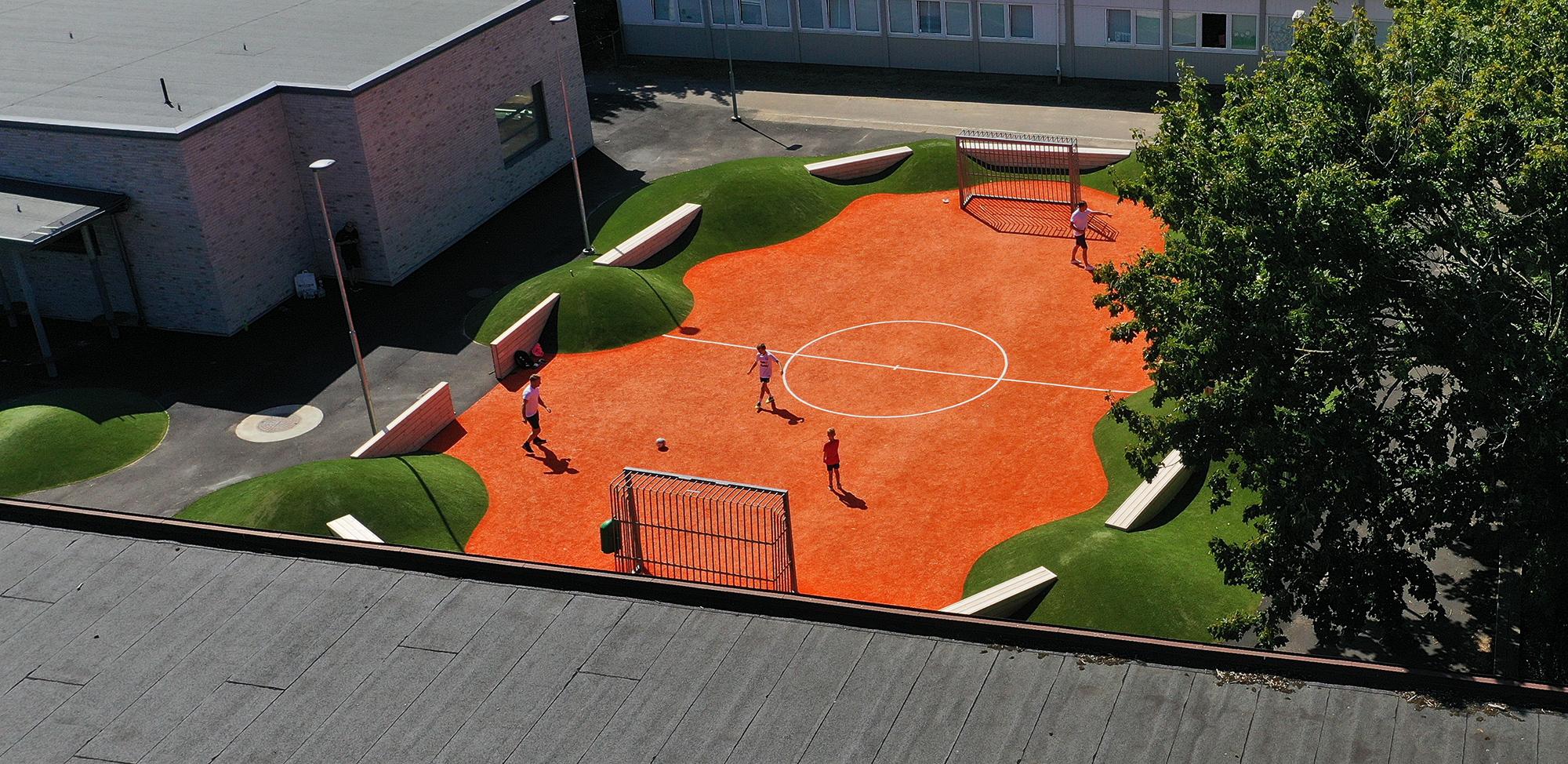 utemiljö skolgård unisport löddesnässkolan bjärred