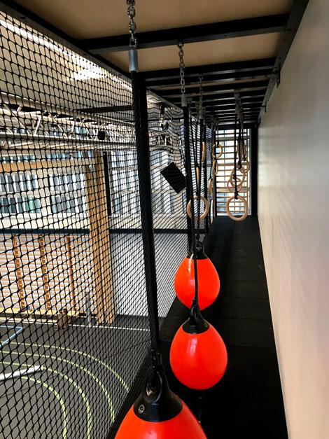 Ålholm skole, Ninja bane, Unisport