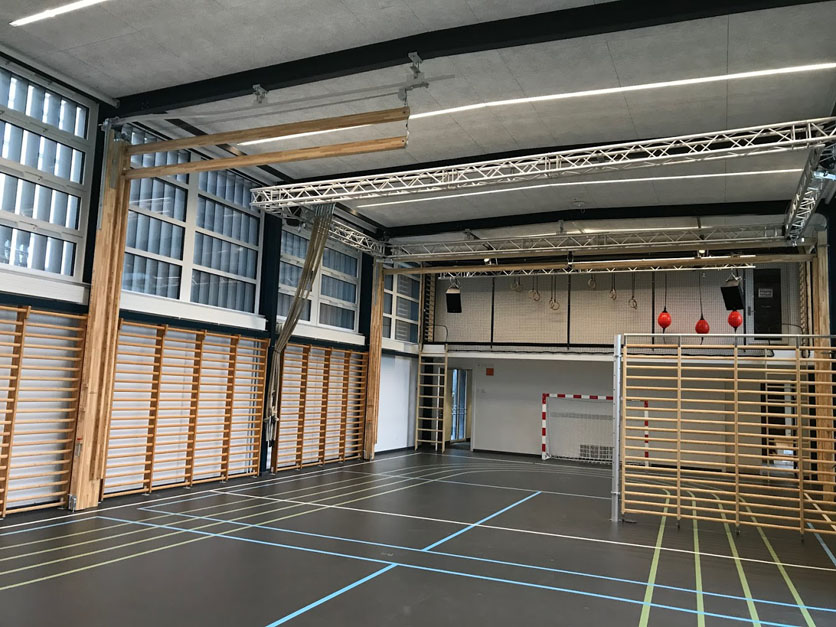 Ålholm skole, Unisport