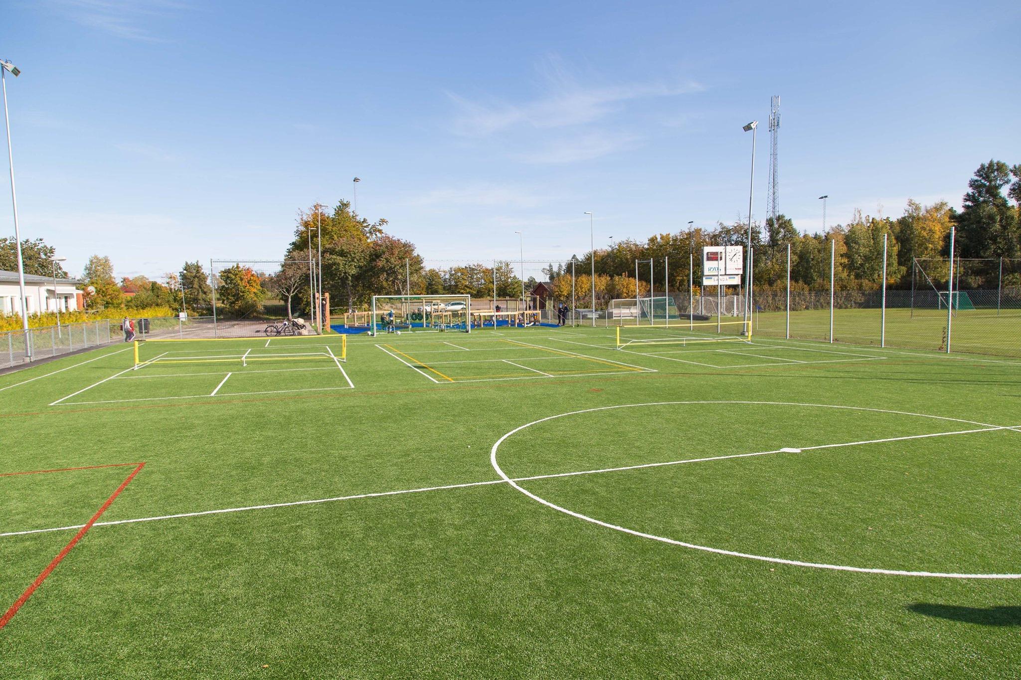konstgräs multisportunderlag från unisport