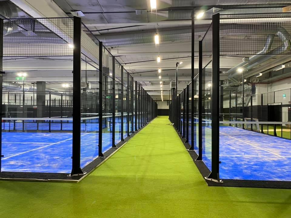 umeå performance center padelcenter padel padelbaner unisport