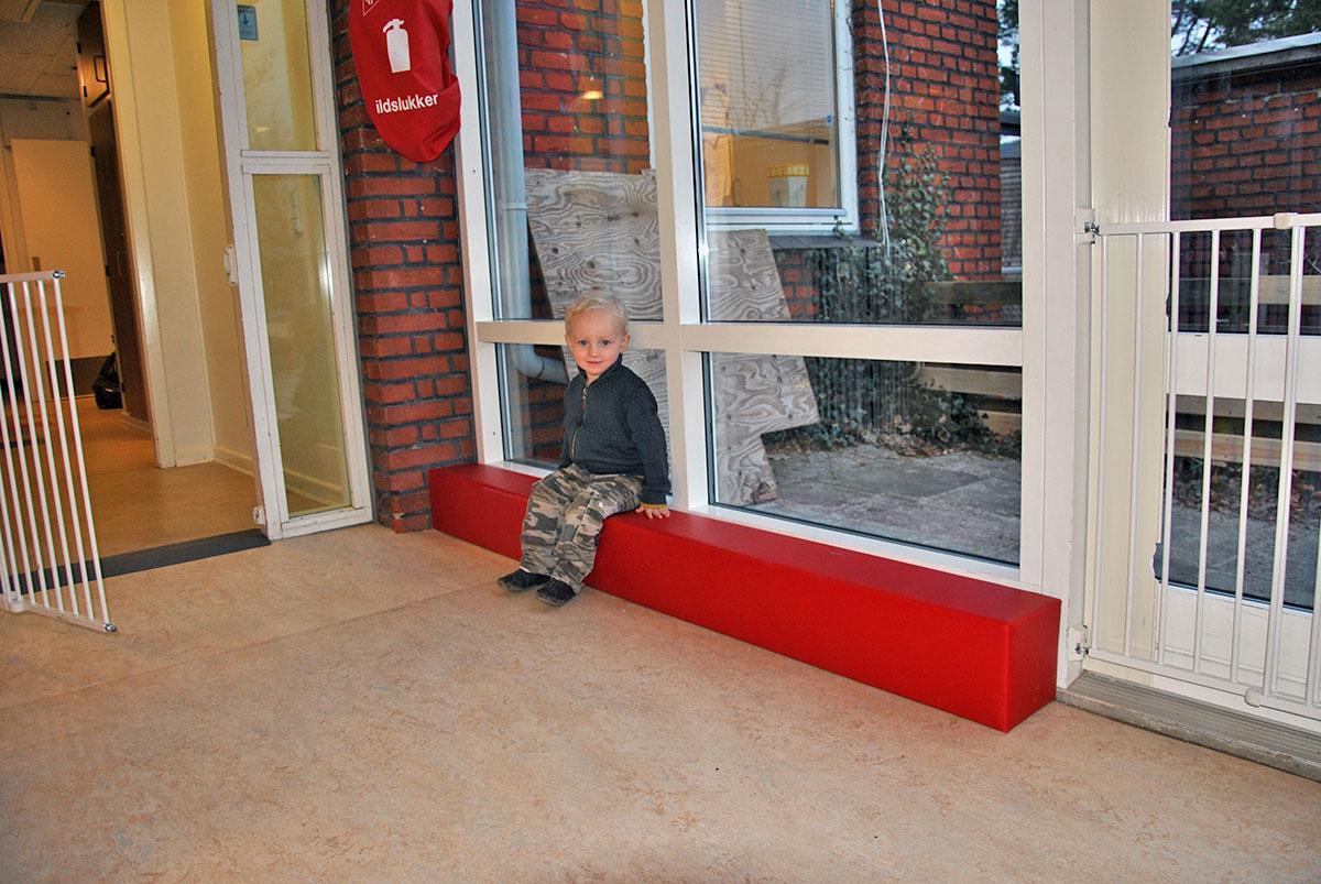 Sikkerhedspolstring Unisport Sejs Børnehave