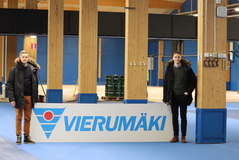 Vierumäki- uudet tennispinnoitteet