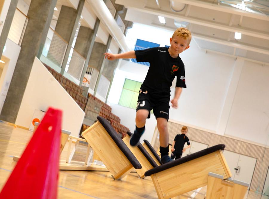 Unisport Malmö Borgarskola sporthall sportgolv sporthallsinredning