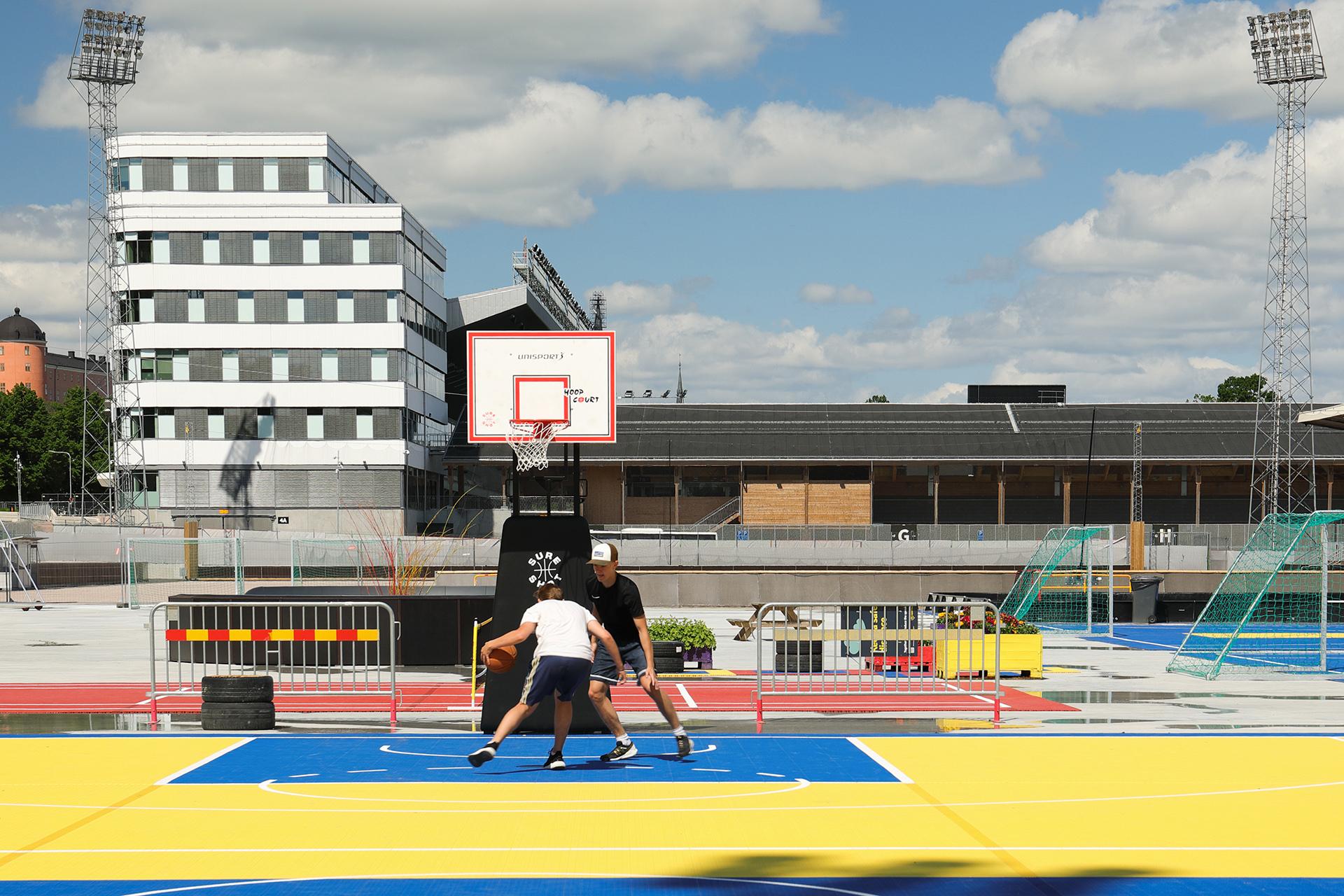 unisport aktivitetsyta uppsala summer zone