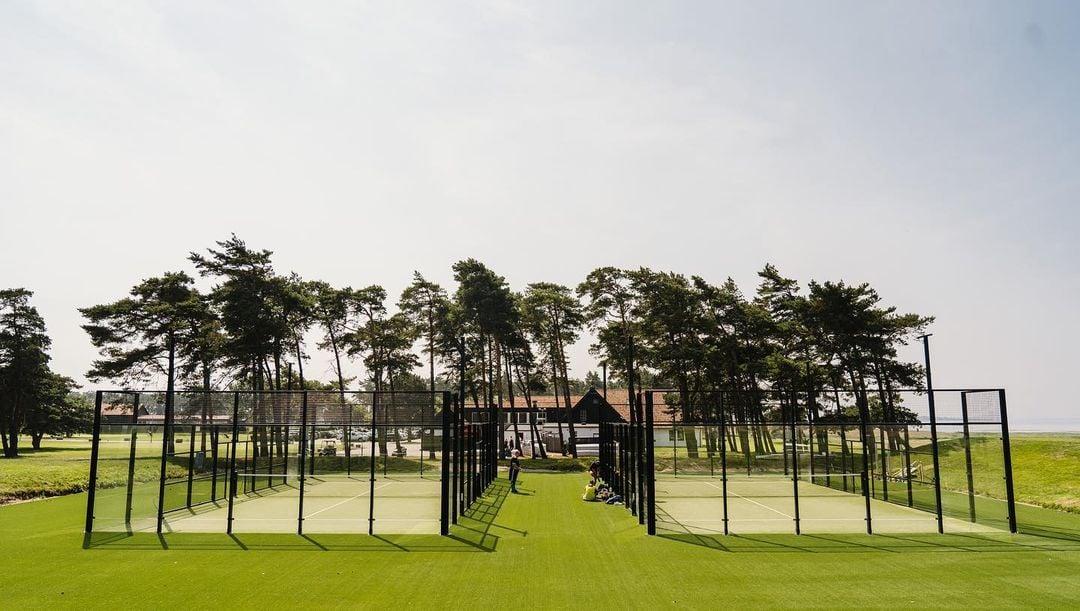 padelbanor padelbana aluminium barsebäck golf unisport