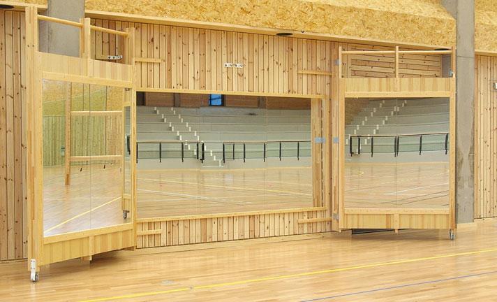 Speglar och balettstänger Unisport