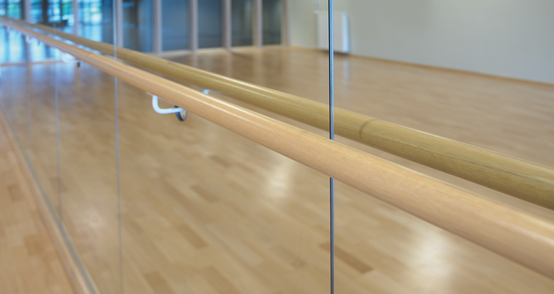 Wall Fixed Single Ballet Barre