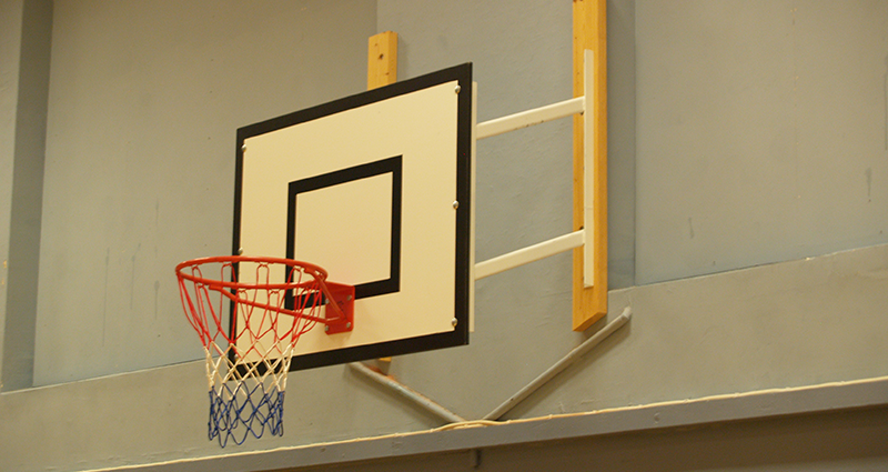 Fixed Projection Practice Basketball Goal by Unisport