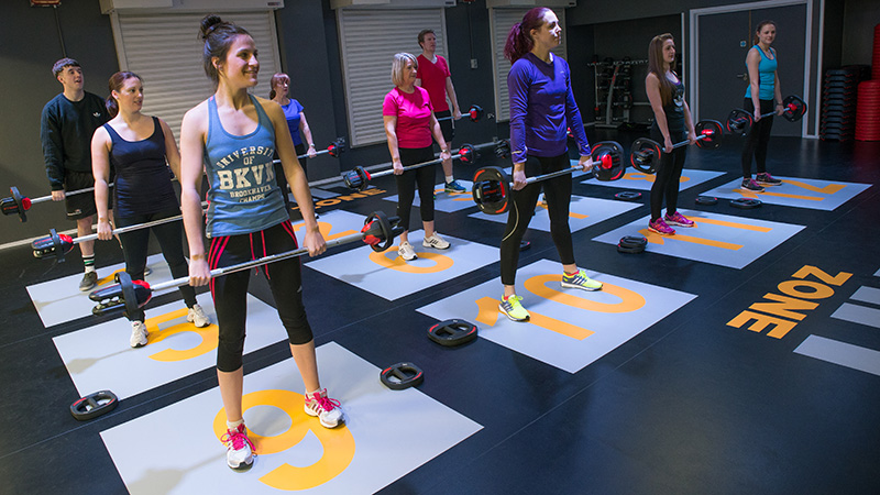 gym fitness floor unisport