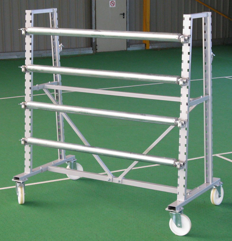 Mobile Double-Sided Rack for Floor Protection