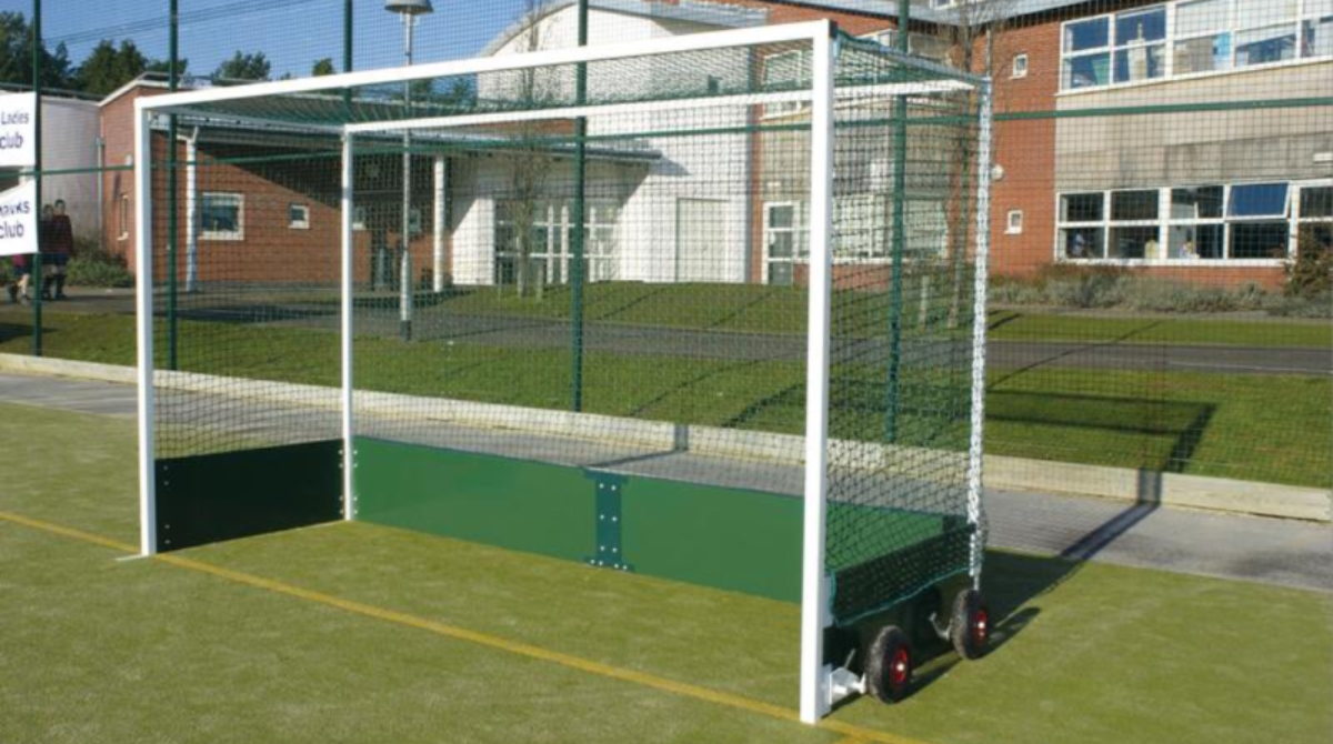 Outdoor Freestanding Hockey Goals by Unisport