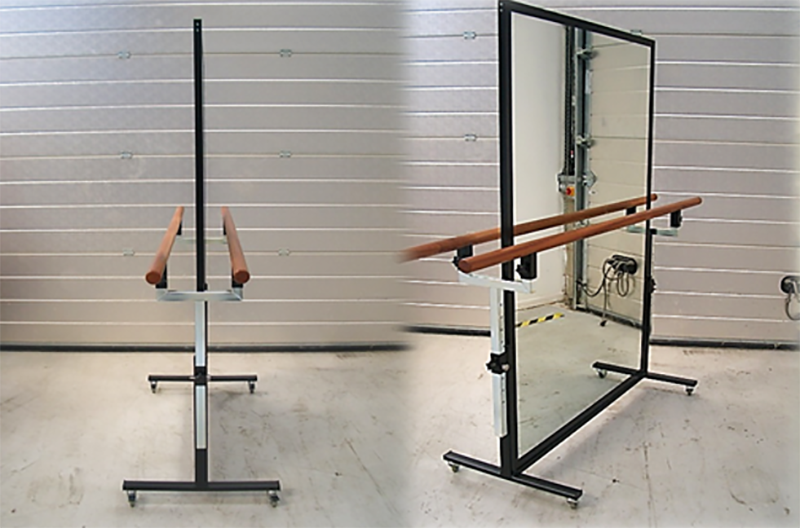 Ballet Barre With Mirror