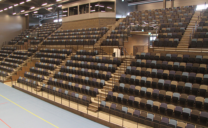 telescop seating unisport