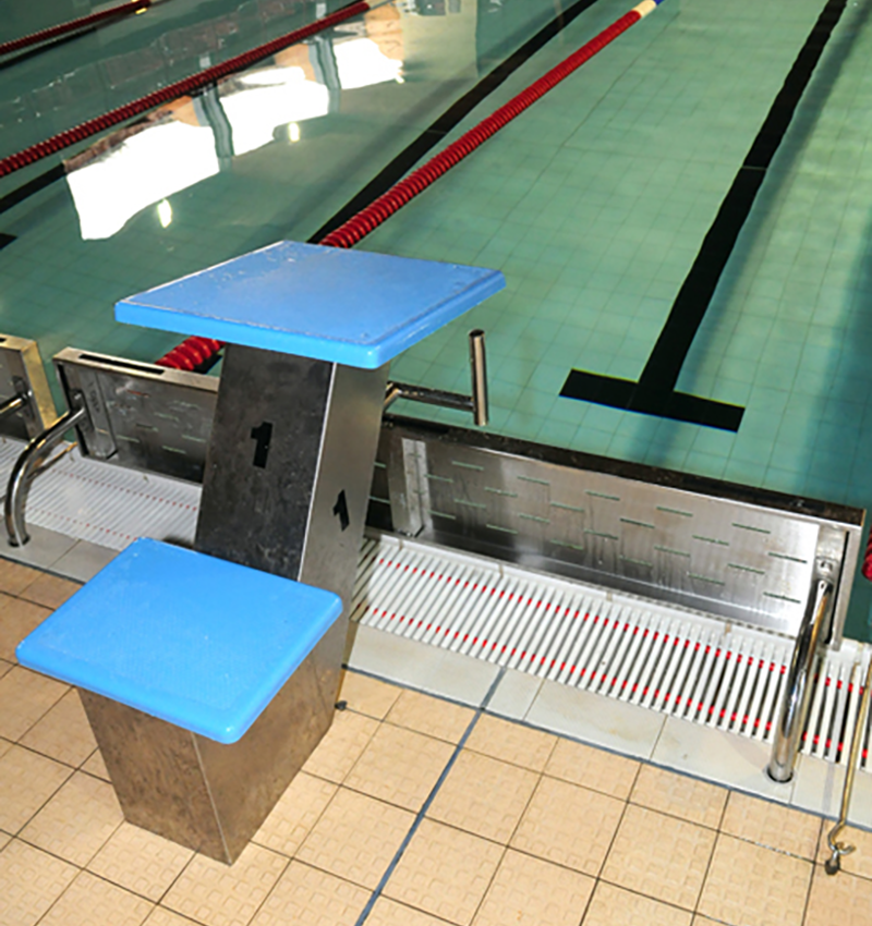 Swimming Pool Deck Level Turning Board Brackets For
