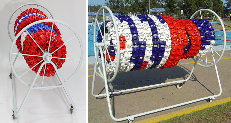 Swimming Pool Lane Ropes Storage Reel | Unisport