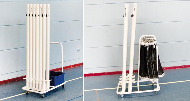 vertical post storage cart unisport