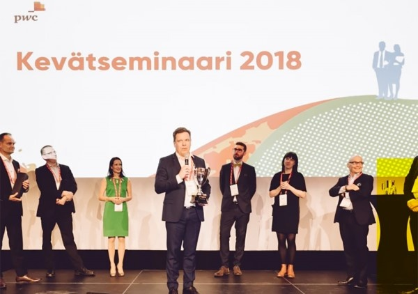 Unisport awarded for the best company in Kasvutarina 2018