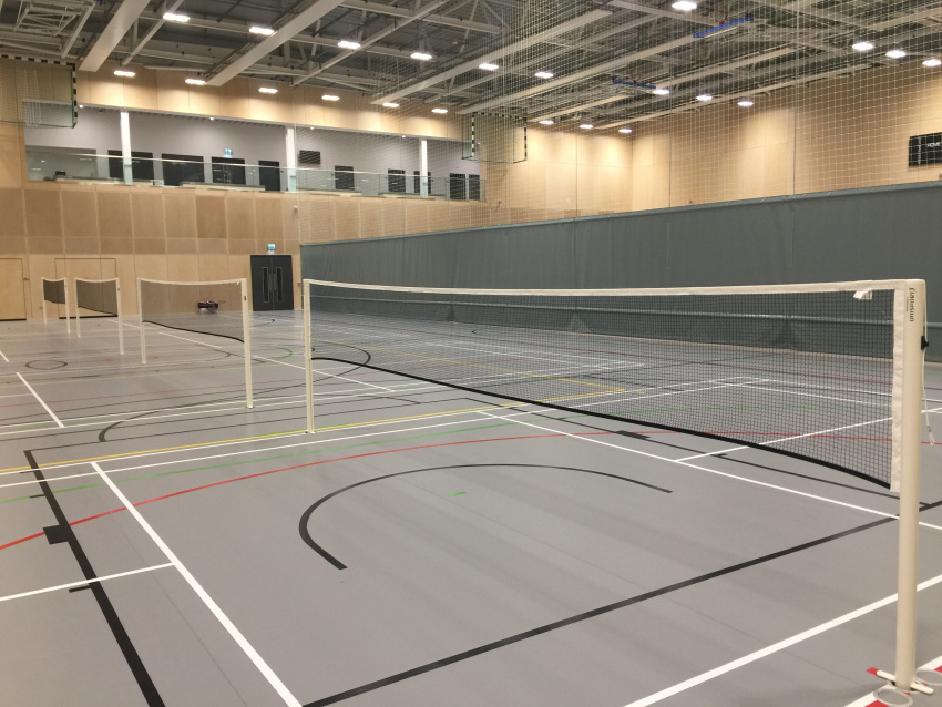 Newcastle University Sports Centre Sports Equipment by Unisport