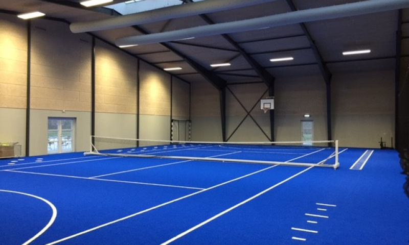 indoor arena fitness center protreatment danmark unisport