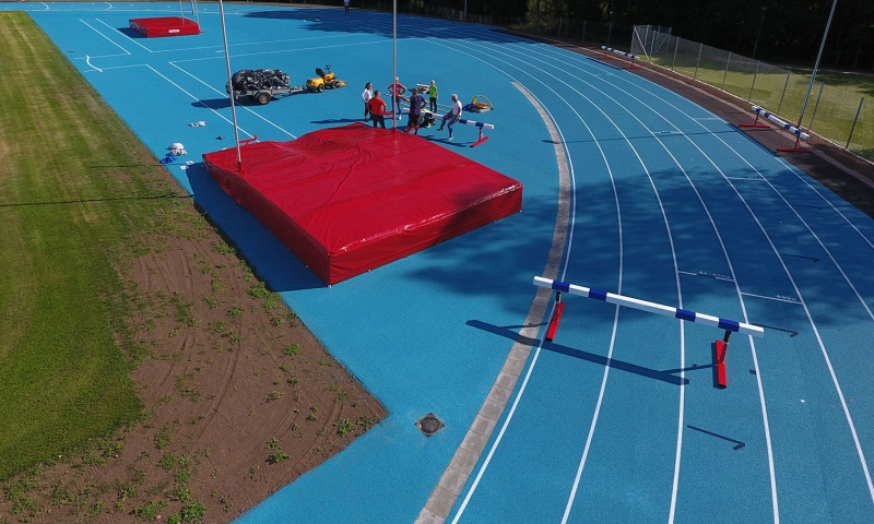 Athletics Track Field by Unisport