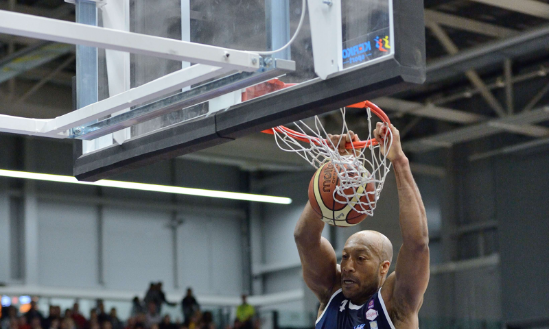 Basketball Goal Emirates Arena Glasgow Rocks Slam Dunk by Unisport