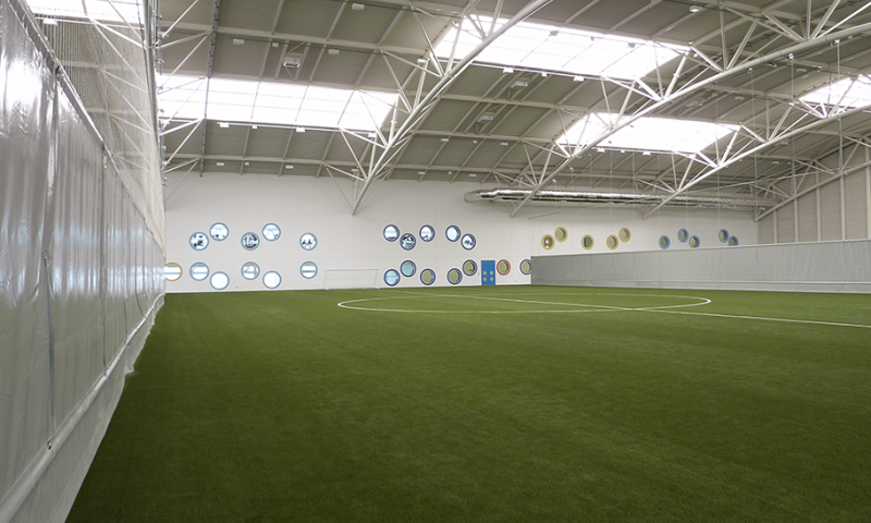 Aberdeen Sports Village Indoor Pitch - Motorised Dividers by Unisport