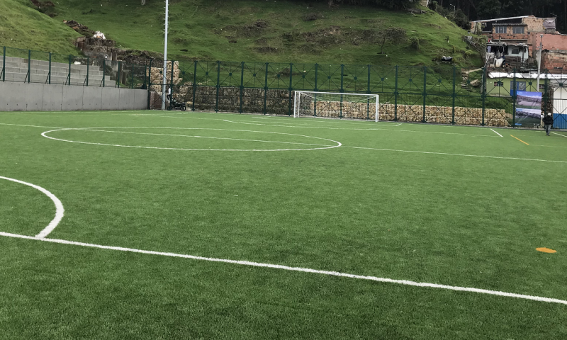 artificial turf for football unisport saltex