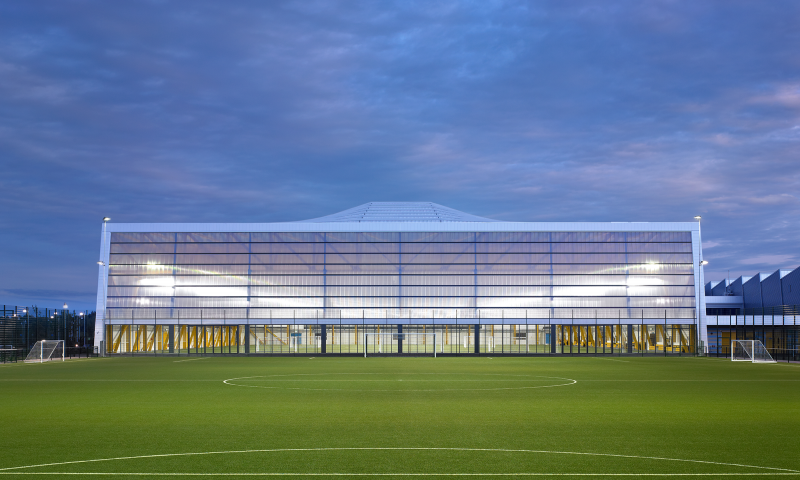 Ravenscraig Regional Sports Facility by Unisport