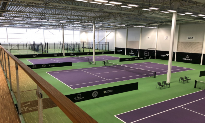 good to great catella arena tennisbanor och padelbanor från unisport